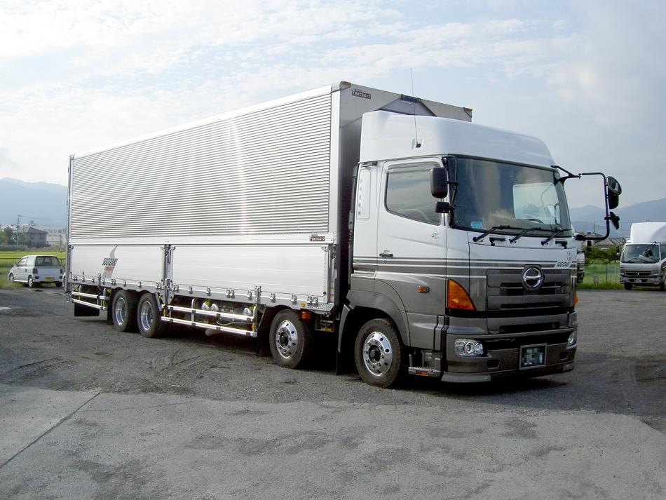 大型4軸増トン車エアサス仕様車