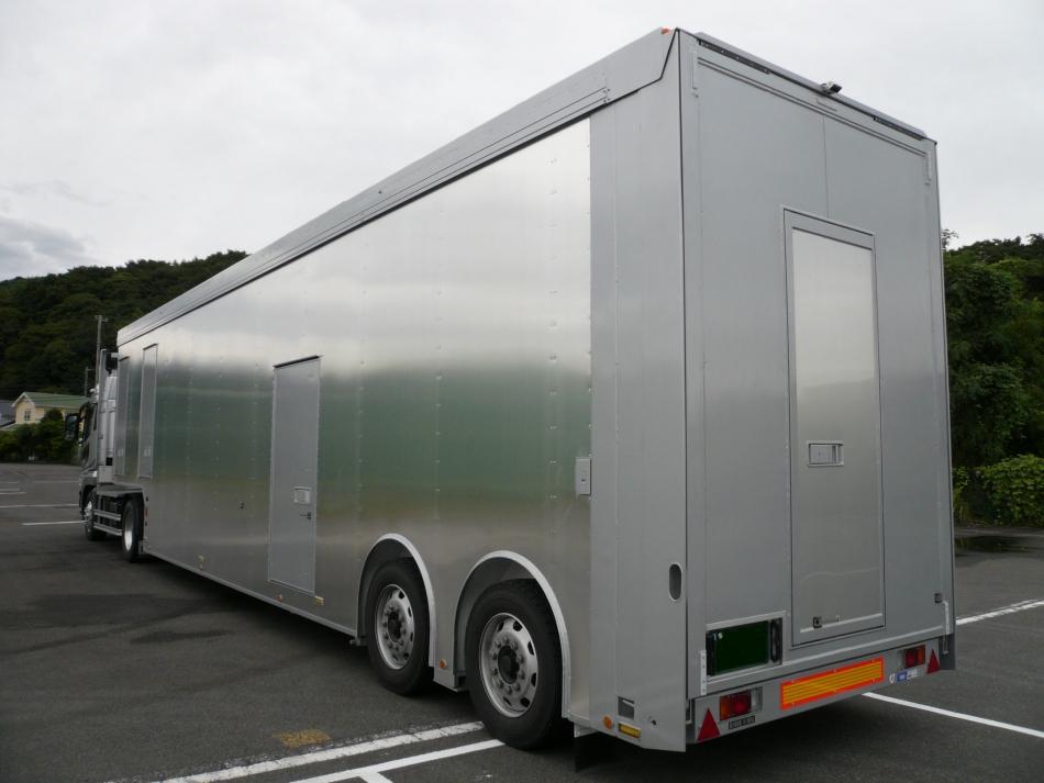 レーストランスポーター(2段床車)